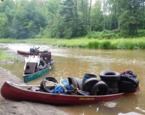 Nettoyage de rivière